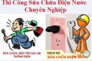 Sửa điện, ống nước tại các quận Hà Nội